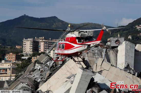 No Chinese casualties in Italian bridge collapse