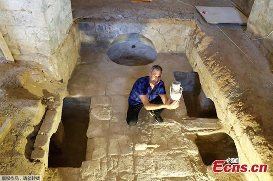 博物馆建设期间在以色列发现了奥斯曼帝国的肥皂厂