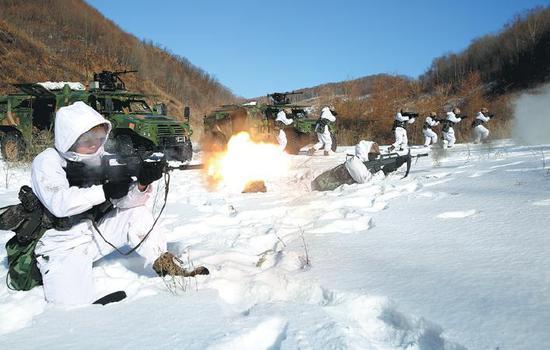 PLA battalion transforms into nimble fighting force