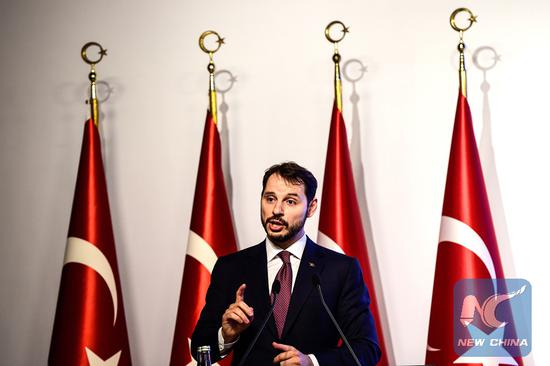 Turkey to emerge stronger from currency volatility: finance minster