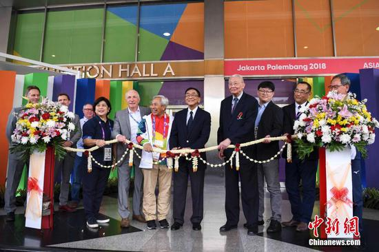 2018 Asian Games: Main press center opened its doors on Thursday