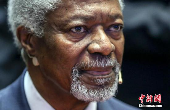Former UN Secretary General Kofi Annan dies at age of 80