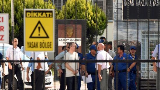 Turkey's higher court refuses to release U.S. pastor Brunson