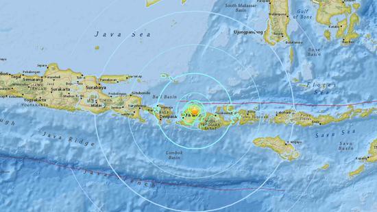 6.3-magnitude quake hits 6 km NE of Sembalunlawang, Indonesia: USGS