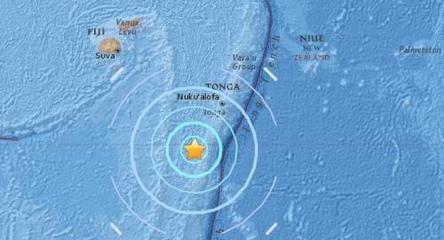 8.2-magnitude quake hits 291 km NNE of Ndoi Island, Fiji: USGS