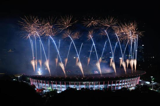 Highlights from 18th Asian Games opening ceremony