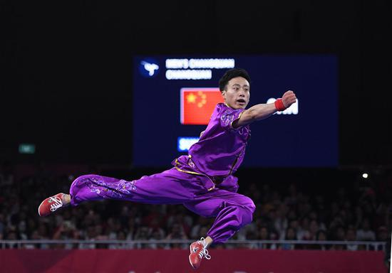 Sun Peiyuan claims 18th Asian Games' first gold for team China