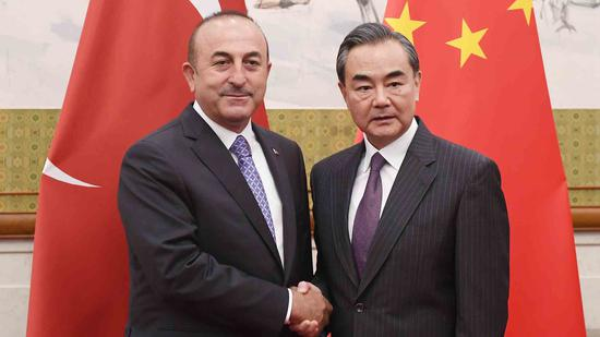 Chinese, Turkish FMs discuss current situation over phone