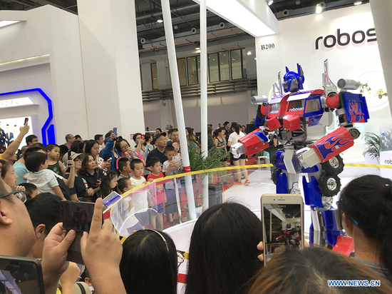 Highlights of 2018 World Robot Conference