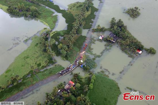 Hundreds killed in worst flood in India's Kerala