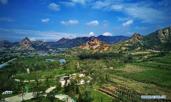 Pit, sump transformed to ecological parks in Hebei