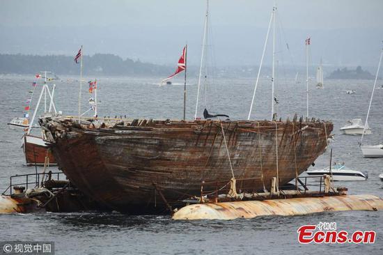 After 100 years, Roald Amundsen's polar ship returns to Norway