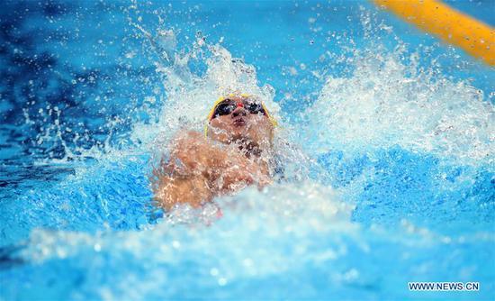 Team China sets sights on golden glory