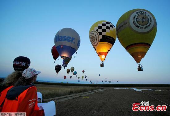 Flying high at World Hot Air Balloon Championship