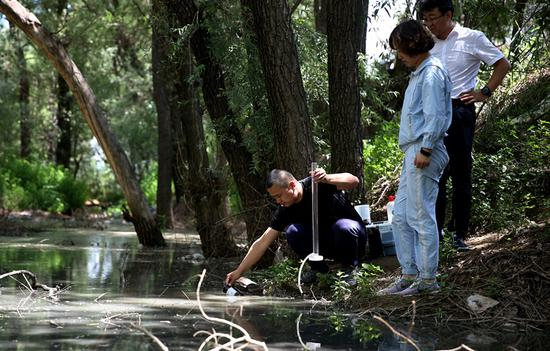 Inspectors go with the flow in river monitoring campaign