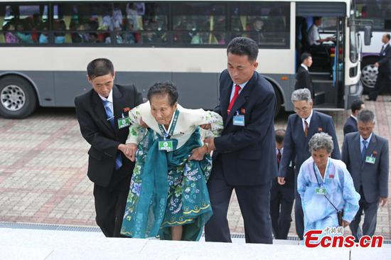 Dozens of families separated during Korean War reunited in DPRK