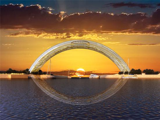Artist's impressions of the Eye of the Yellow Sea