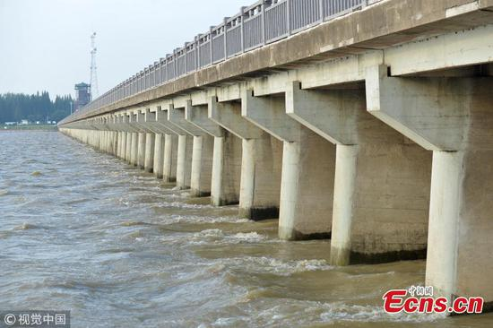 Jiangsu braces for rising floodwaters