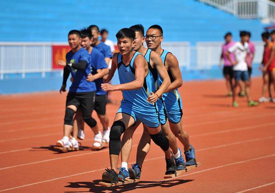 Traditional ethnic sports competition held in Hebei