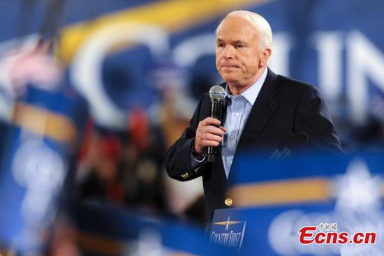 John McCain, war hero and 'maverick' Republican, is dead at 81