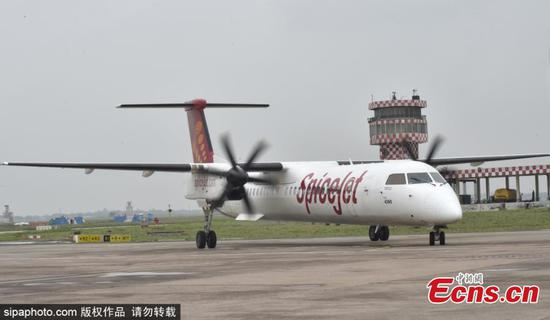SpiceJet debuts India's first biofuel flight