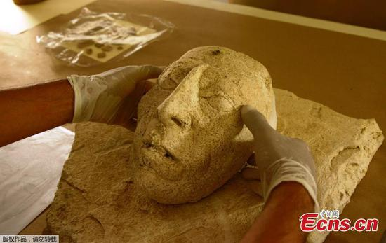 Mexico: Archaeologists discover ancient mask of Mayan ruler