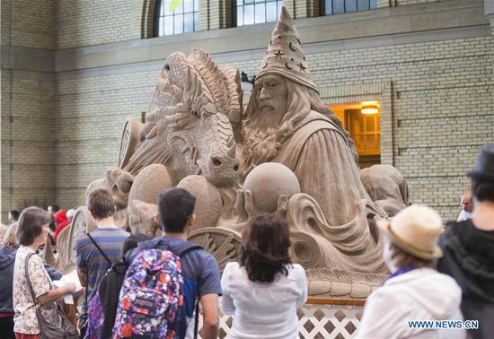 Int'l Sand Sculpting Competition held in Toronto, Canada