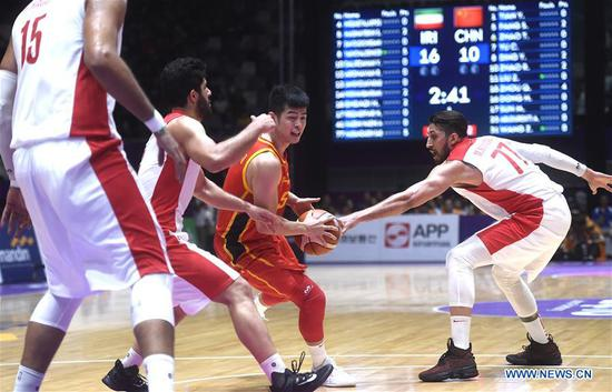 Asian Games men's basketball final: China vs. Iran