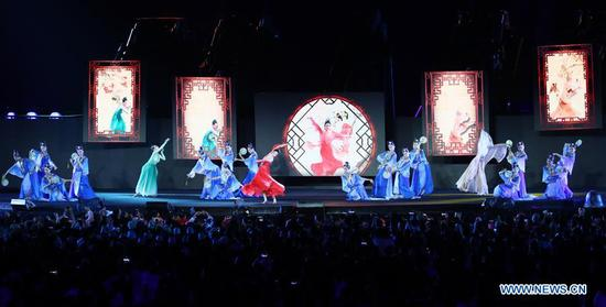 Hangzhou 2022 presentation during closing ceremony of 18th Asian Games