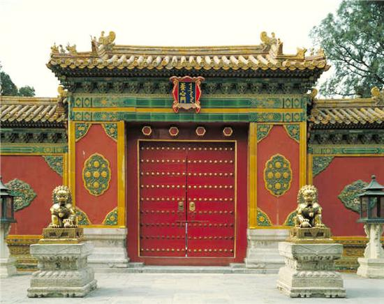 The Yangxin Gate (Photo/The Palace Museum)