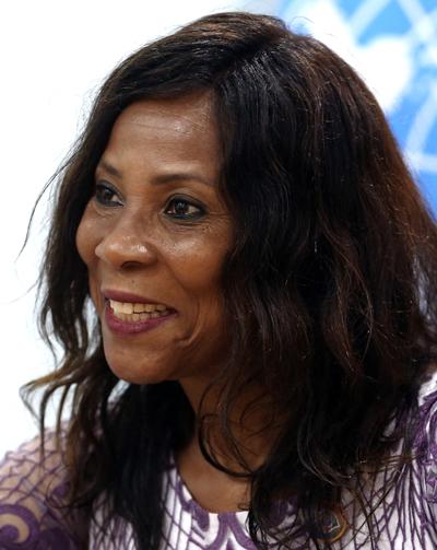 Ahunna Eziakonwa, director of UNDP's regional bureau for Africa. (Photo/China Daily)