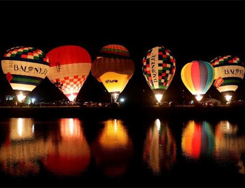 Hot air balloon championship in Czech