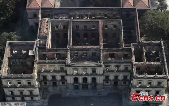 Fire ravages 200-year-old Brazil museum
