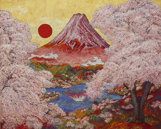 Koji Kinutani retrospective reflects a life rich in color