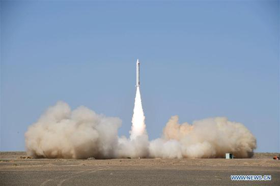 Chinese private space company launches suborbital rocket