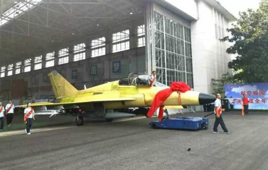 China's FTC-2000G export-version versatile aircraft rolls off production line