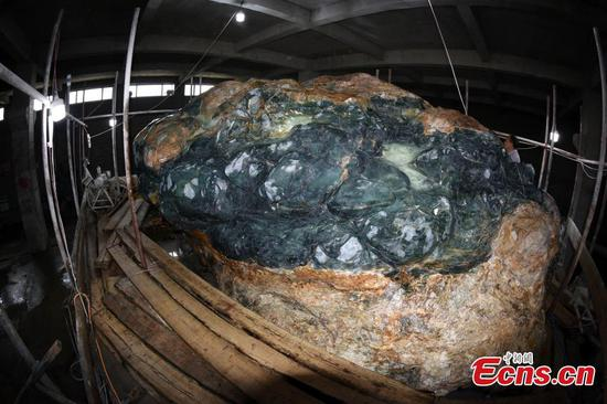 World's largest jade sculpture of Great Wall to be completed next year
