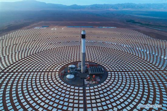 Feature: Chinese builders help Morocco restructure energy mix via solar power projects
