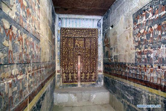 Egypt inaugurates Old Kingdom tomb near Cairo