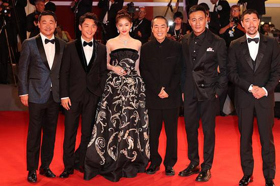 Beauty of Zhang Yimou's 'Shadow' stuns audience in Venice