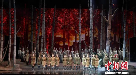 Chinese-produced opera 'The Dawns Here Are Quiet' tours Russia
