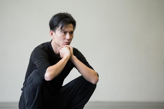 Taiwan dancer-choreographer Cheng Tsung-lung. (Photo provided to China Daily)