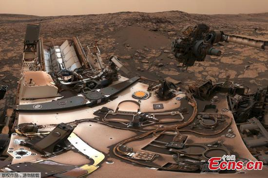 Curiosity Rover sends back panorama photo