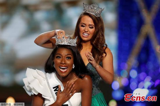 Miss New York Nia Imani Franklin wins Miss America pageant