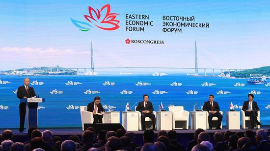 Eastern Economic Forum offers great chance for political talks