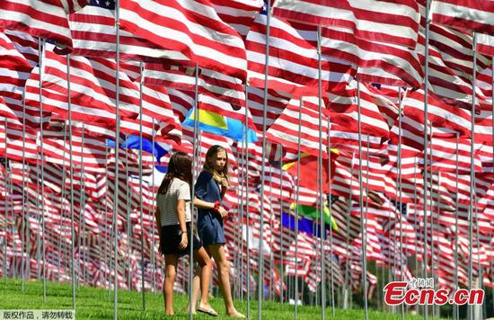 Pepperdine honors 9/11 victims with flags display
