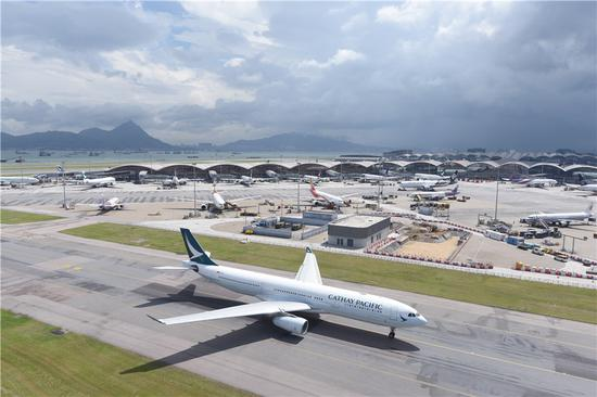 Hong Kong airport aims to meet new challenges
