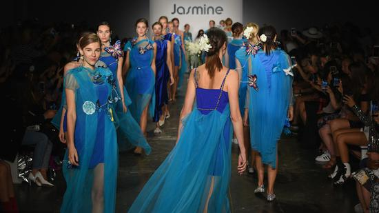 Chinese brands debut at New York Fashion Week