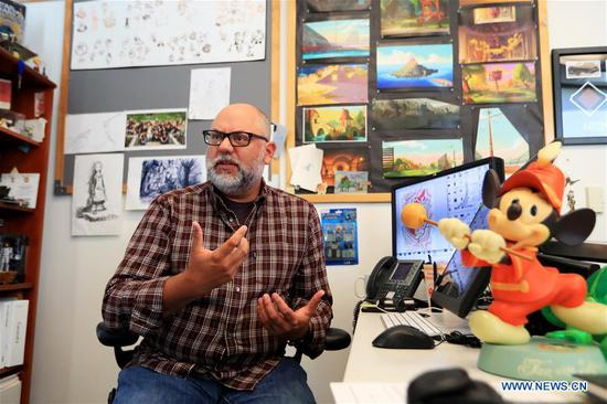 Disney shares its secrets with leading Chinese animators