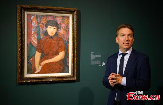 Pan Yu-Lin paintings show opens in Hong Kong